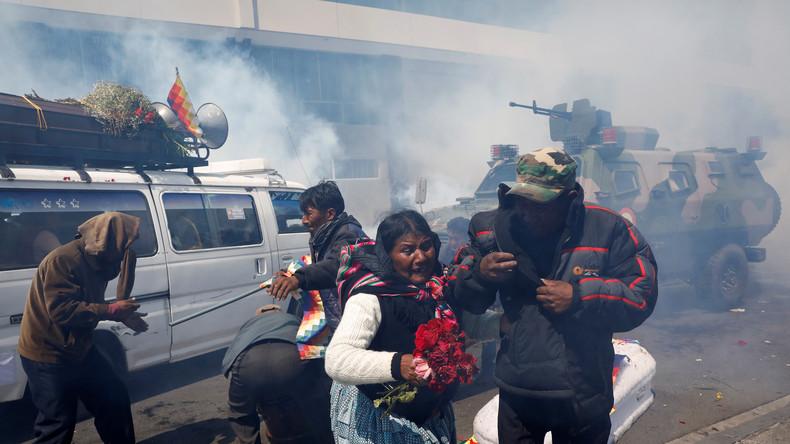 Nach dem Putsch in Bolivien: Straflosigkeit für mordende Polizisten und Militärs