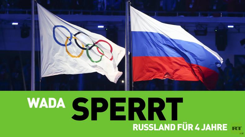 Welt-Anti-Doping-Agentur sperrt Russland für vier Jahre