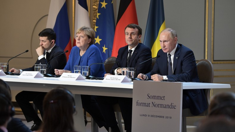 Gipfeltreffen im Normandie-Format: Doping, Tiergarten-Mord, Selenskij rüttelt an Minsker Abkommen