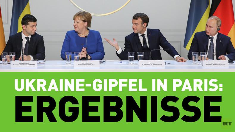 Ergebnisse vom Ukraine-Gipfel in Paris: Fortschritte, Rückschritte, Ausblicke