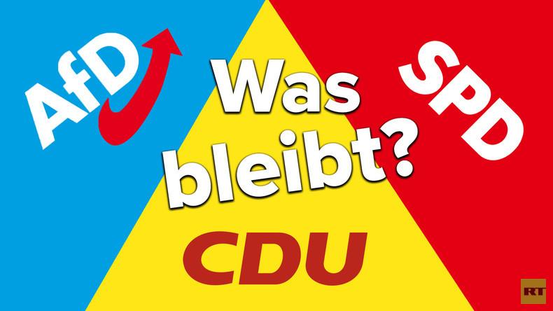 AfD, CDU und SPD: Was bleibt von drei Parteitagen in drei Wochen? (Video)