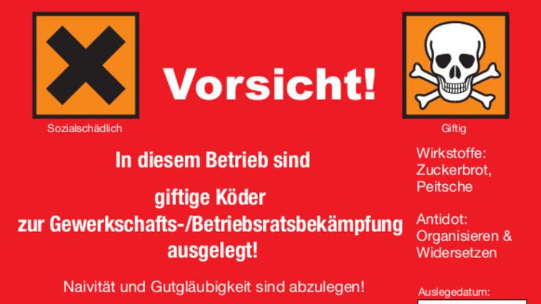 """Schwarzer Freitag: Initiative ruft zu Aktionen gegen """"Arbeitsunrecht"""" im Einzelhandel auf"""