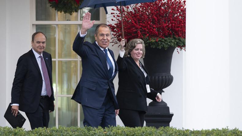 "Sergei Lawrow: ""US-Kongress will Beziehungen der USA zu Russland zerstören"" (Video)"