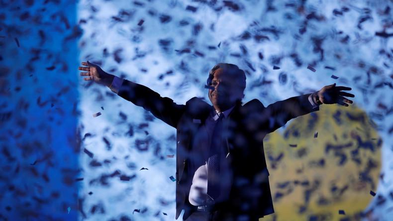 Argentinien: Alberto Fernández als neuer Präsident vereidigt