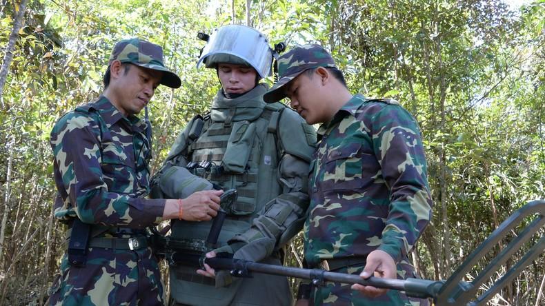 Truppen aus Russland und Laos starten erste gemeinsame Übungen
