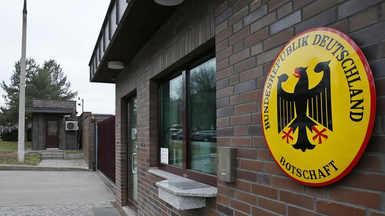 Russland bestellt deutschen Botschafter ein – und verkündet Ausweisung deutscher Diplomaten