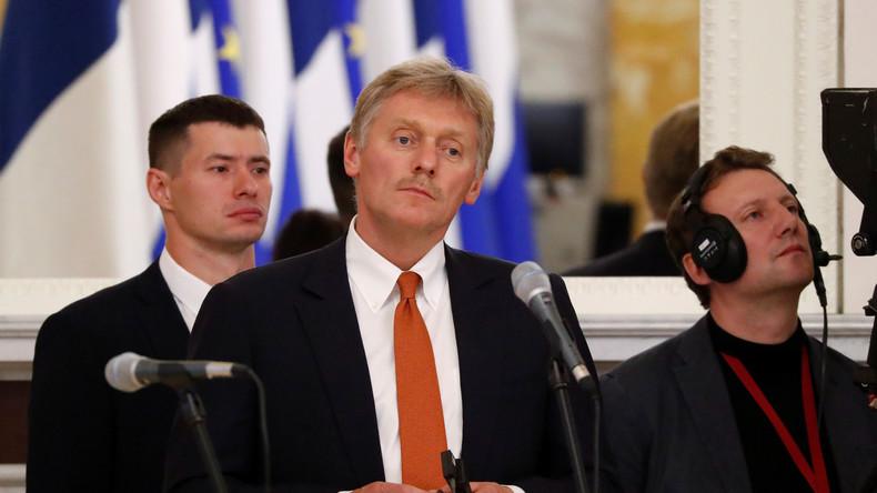 Kreml-Sprecher bestätigt: Berlin ignorierte mehrere Auslieferungsersuche für getöteten Georgier