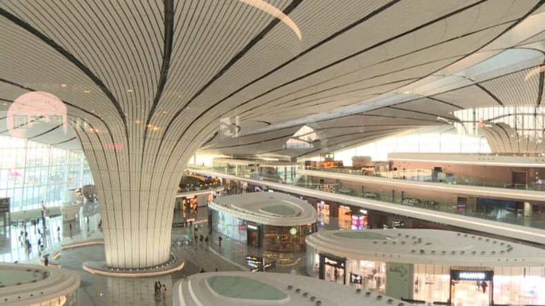 Pekings neuer Super-Flughafen – China setzt auf Hightech, um das Reisen schneller zu machen
