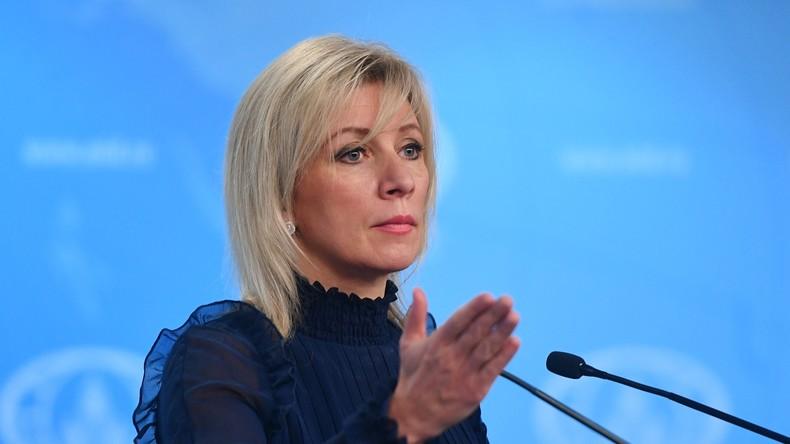 Marija Sacharowa kommentiert Dementierung des Auslieferungsgesuches nach Tiergarten-Mord