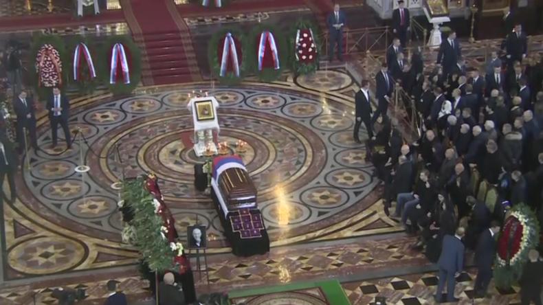 Russland: Putin ehrt verstorbenen ehemaligen Moskauer Bürgermeister Juri Luschkow