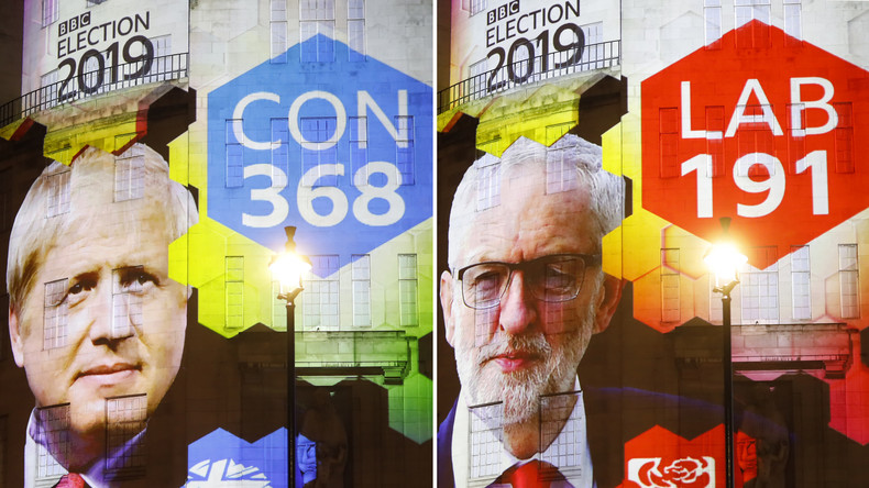 Sieg für Boris Johnson: Konservative holen absolute Mehrheit