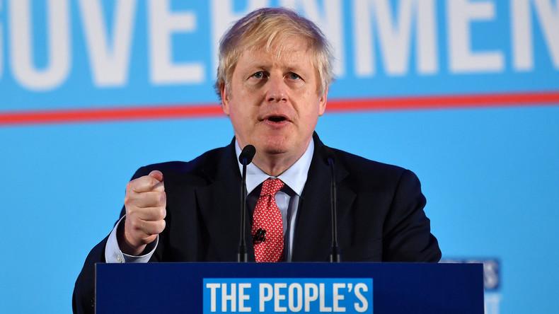 """""""Herzlichen Glückwunsch, Boris Johnson!"""" – Reaktionen auf die britische Wahl"""