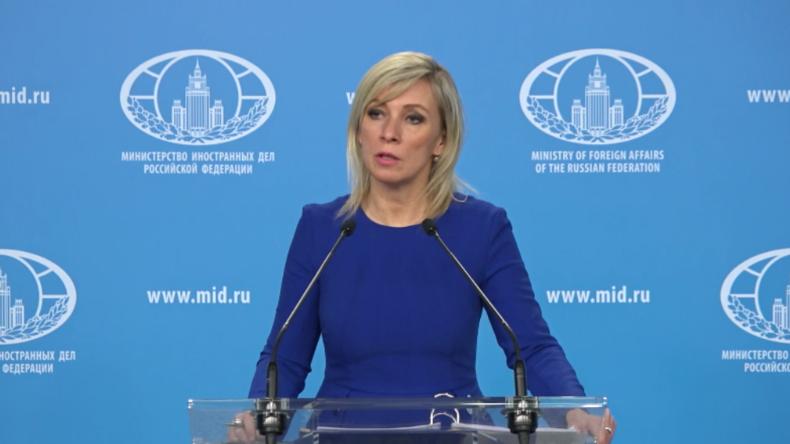 """Russlands Außenamtssprecherin verurteilt Umgang mit Assange durch """"Vorzeige-Demokratien"""""""