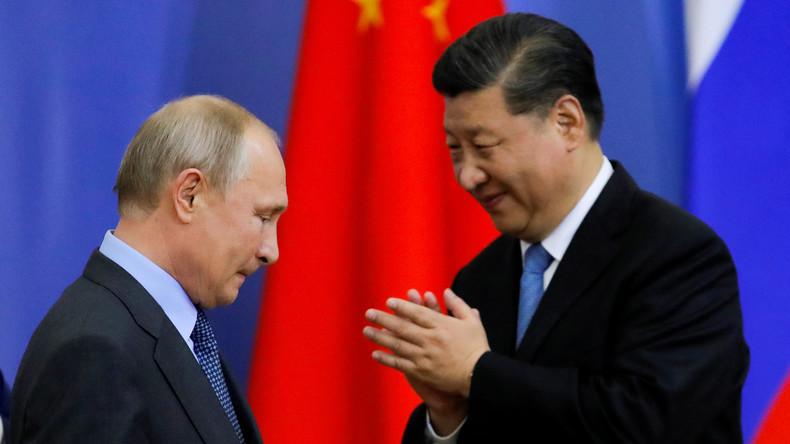 Handel zwischen Russland und China wird dieses Jahr 100 Milliarden Dollar-Grenze überschreiten