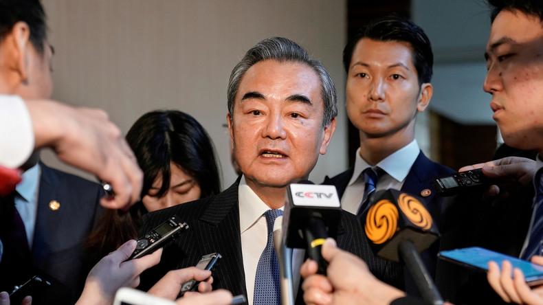 Chinesischer Außenminister: US-Weltanschauung ist auf Abwege geraten
