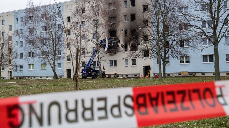 """""""Stehen vor dem Nichts"""": Anwohner warten auf Lösungen nach Wohnhaus-Explosion in Blankenburg"""