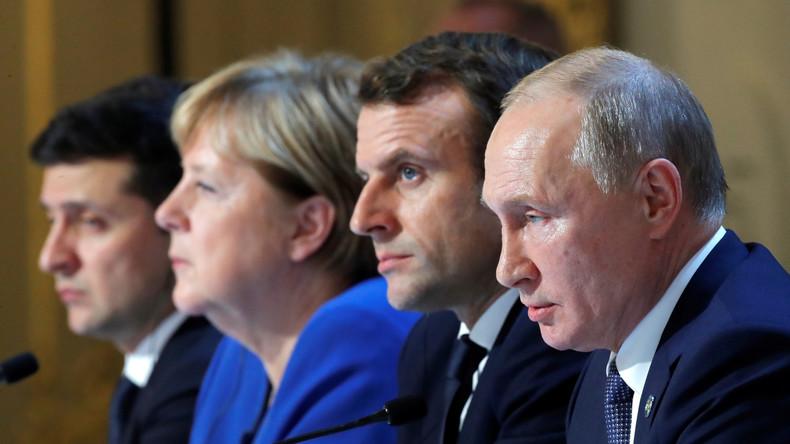 """Putins Sprecher zum Ukraine-Gipfel in Paris: """"Dialog hat begonnen"""""""