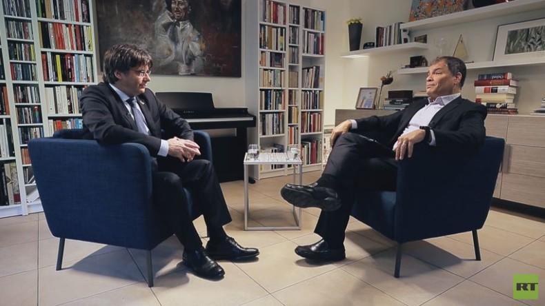 """Puigdemont im RT-Interview: """"Hersteller von Landkarten werden diese mehrmals ändern müssen"""""""