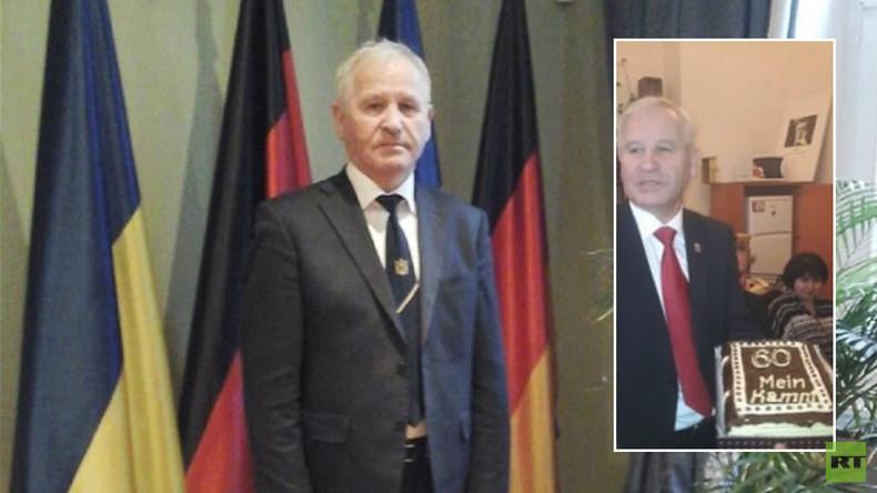 """""""Mein Kampf""""-Torte zum Geburtstag: Entlassener ukrainischer Konsul in Deutschland wieder im Dienst"""