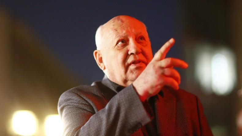 Gorbatschow: USA streben globale militärische Dominanz an