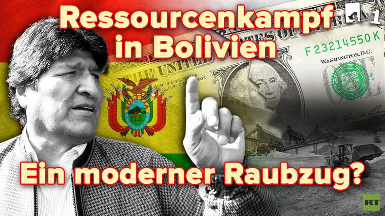 Bolivien: Ein Putsch um Lithium? | 451 Grad