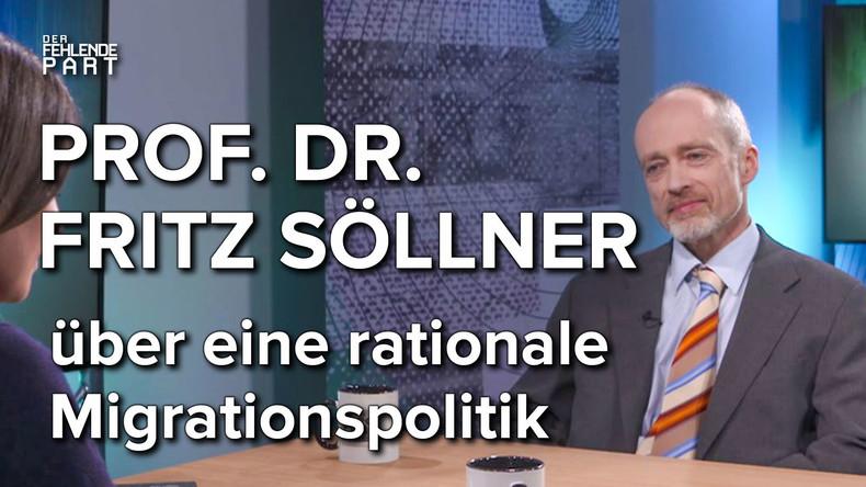 """""""Zuwanderung verursacht in allen Fällen Gewinner und Verlierer"""" – Volkswirt Prof. Dr. Fritz Söllner"""