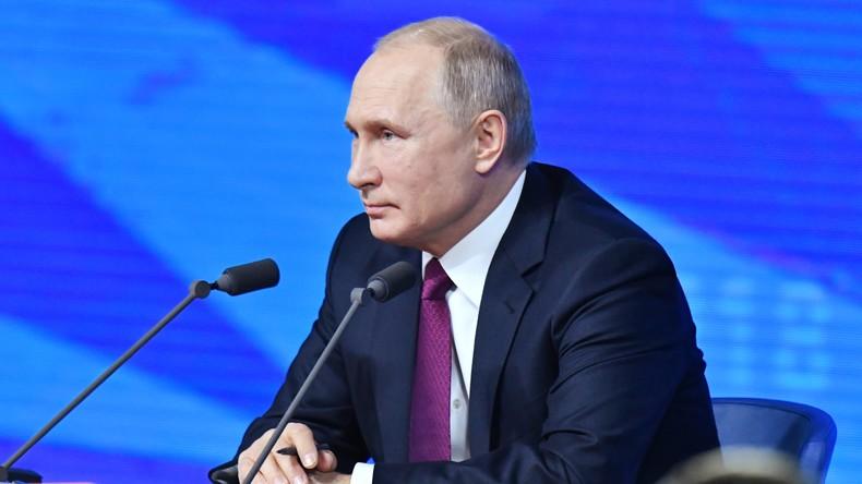 Vorankündigung: Jahres-Pressekonferenz von Wladimir Putin auf Deutsch