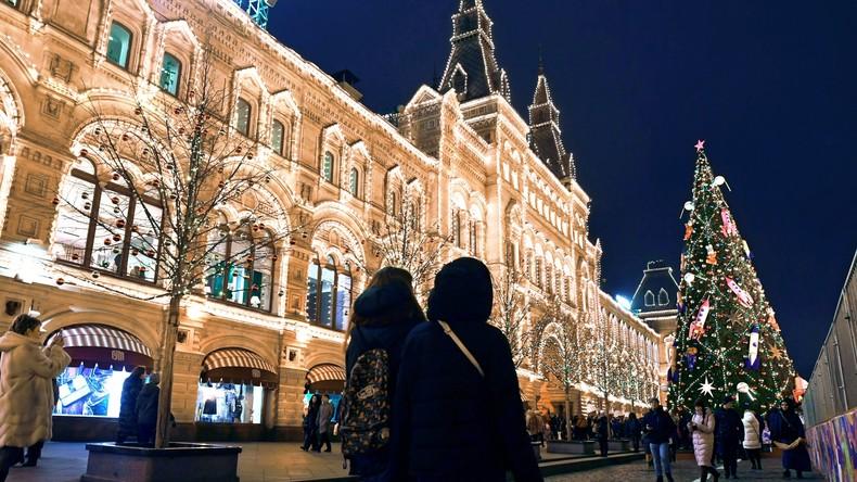 Von wegen weiße Weihnachten: Moskauer Winter stellt neuen Wärmerekord auf
