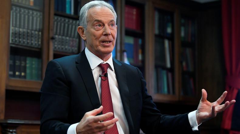 """Wahlprogramm wie eine """"Wunschliste"""": Ex-Premier Tony Blair wirft Labour-Chef Corbyn Versagen vor"""