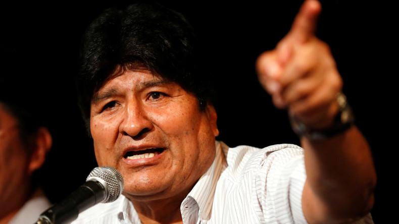 "Bolivianische De-facto-Regierung ordnet Verhaftung von Ex-Präsident Morales wegen ""Terrorismus"" an"