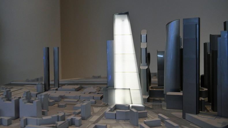 Moskau bekommt das höchste Wohngebäude Europas