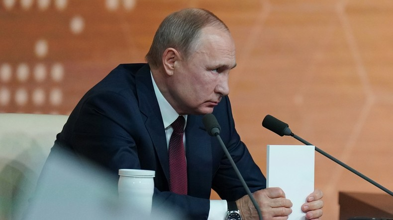 Putin räumt ein: Moskau hatte Auslieferung von Changoschwili nicht offiziell beantragt