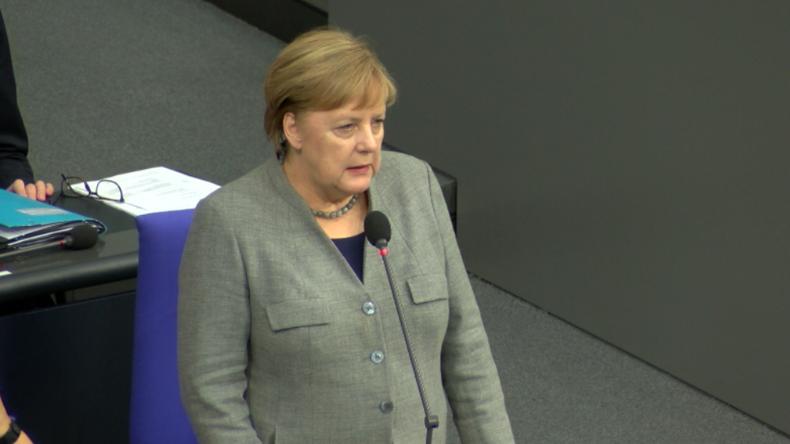 """""""Haben nicht die Absicht, zurückzuweichen"""" - Merkel zu Sanktionen der USA gegen Nord Stream 2"""