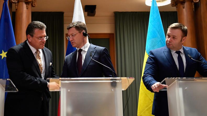 Einigung im Gasstreit zwischen Russland und der Ukraine: Kiew erhält weiterhin Transitgebühren