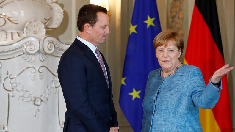 US-Botschafter Grenell: Sanktionen gegen Nord Stream 2 kommen Europa zugute