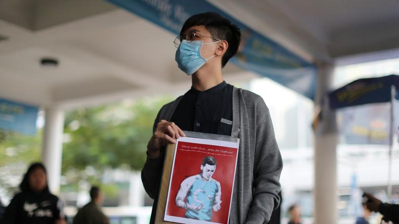 Neues Protestziel: Hongkong-Demonstrationen richten sich gegen chinesischen Umgang mit Uiguren