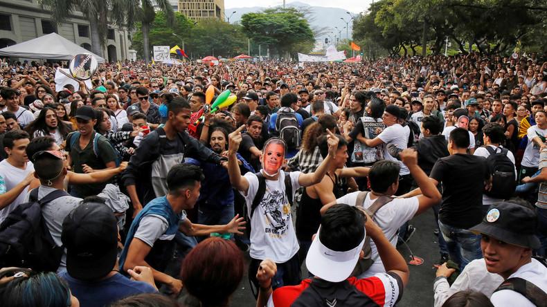 Dialog ohne Einigung – Proteste in Kolumbien gegen die Regierung von Präsident Duque