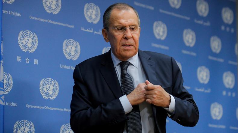 Gastbeitrag des russischen Außenministers Lawrow: Sicherheit auf NATO-Grundlage ist eine Illusion