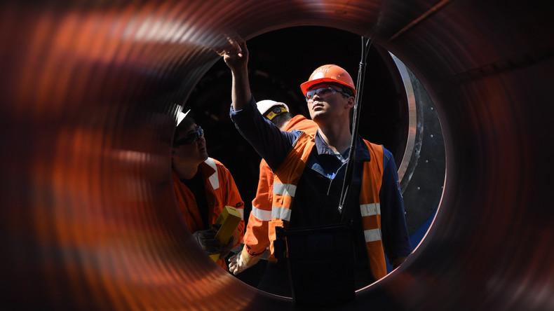 Deutschland: Schifffahrtsbehörde genehmigt den Bau von Nord Stream 2 im Winter