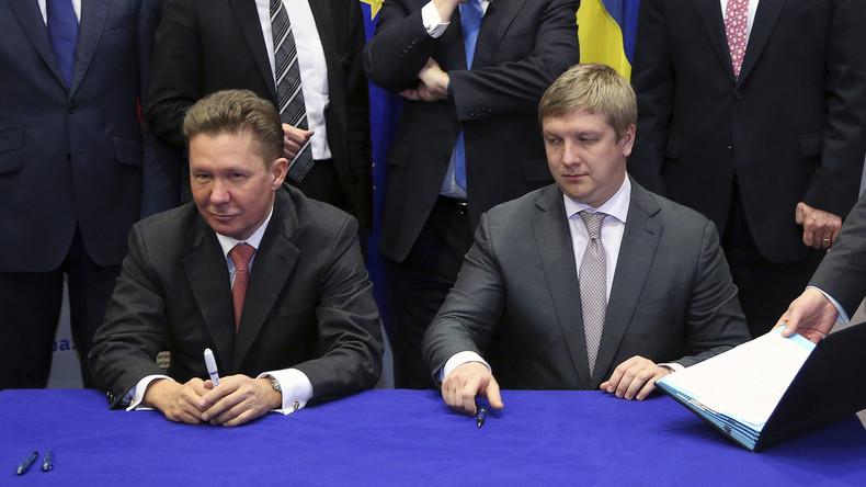 Neuer Gasvertrag zwischen Russland und Ukraine macht USA Strich durch die Rechnung