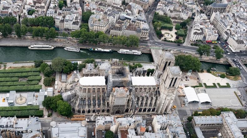 Domdekan: Weiterhin extreme Einsturzgefahr für Notre-Dame de Paris