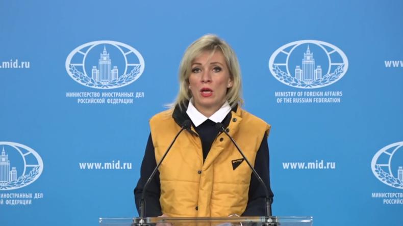 """Russland: Sacharowa fordert die """"vollständige Umsetzung"""" des Sotschi-Memorandums zu Idlib"""