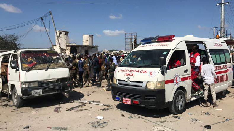 Dutzende Tote bei Explosion einer Autobombe in Somalia