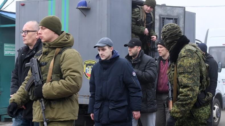 Erstmals seit zwei Jahren: Gefangenenaustausch in Ostukraine