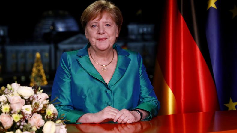 """Merkels Neujahrsansprache: """"Die 20er Jahre können gute Jahre werden"""""""