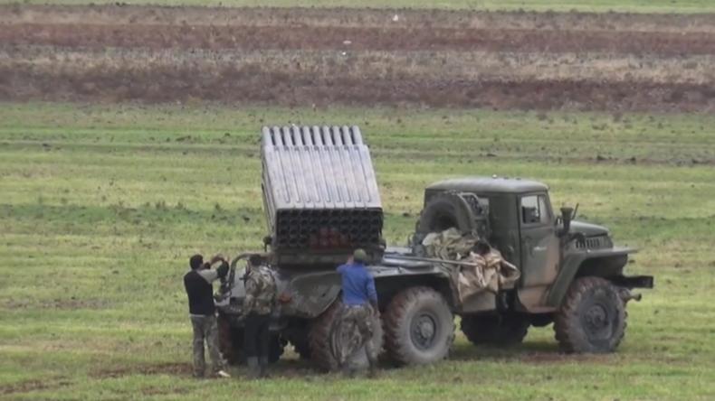 Syrien:Syrisch-arabische Armee nimmt militärische Operationen in der Provinz Idlib wieder auf