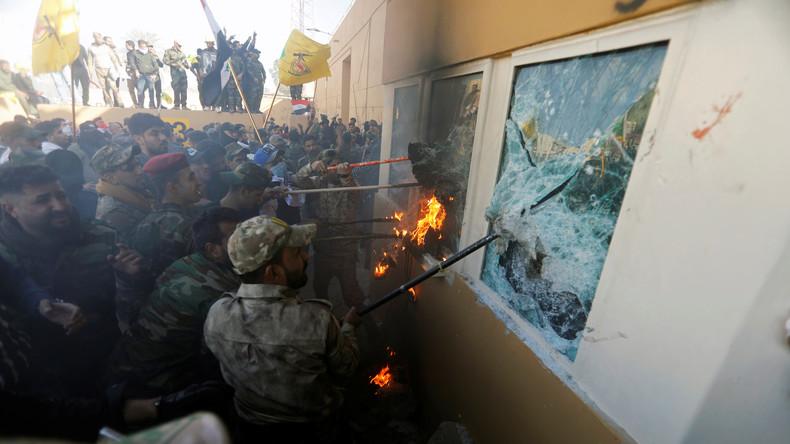 Trump droht Iran mit Konsequenzen nach Sturm von irakischen Demonstranten auf US-Botschaft in Bagdad