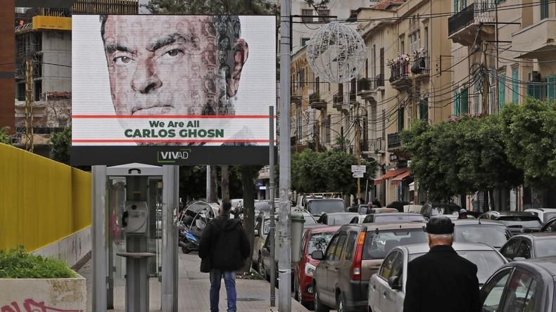 Überraschende Flucht aus Japan: Ex-Renault-Boss Carlos Ghosn im Libanon
