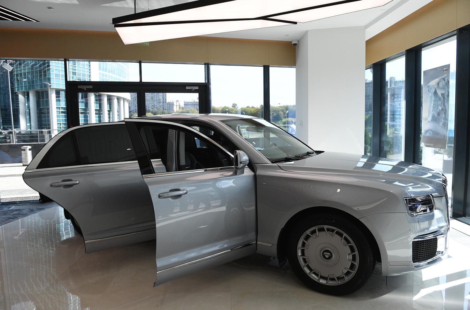 Russland beginnt 2021 mit der Serienproduktion von Putins Limousine Aurus