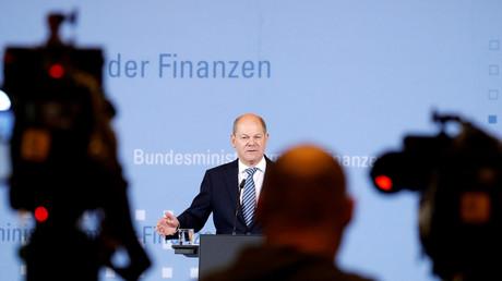 Der deutsche Finanzminister Olaf Scholz, Berlin, Deutschland, 30. Oktober 2019